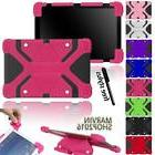 "Fit Various 10"" HP Tablet - Shockproof Silicone Stand Cover"
