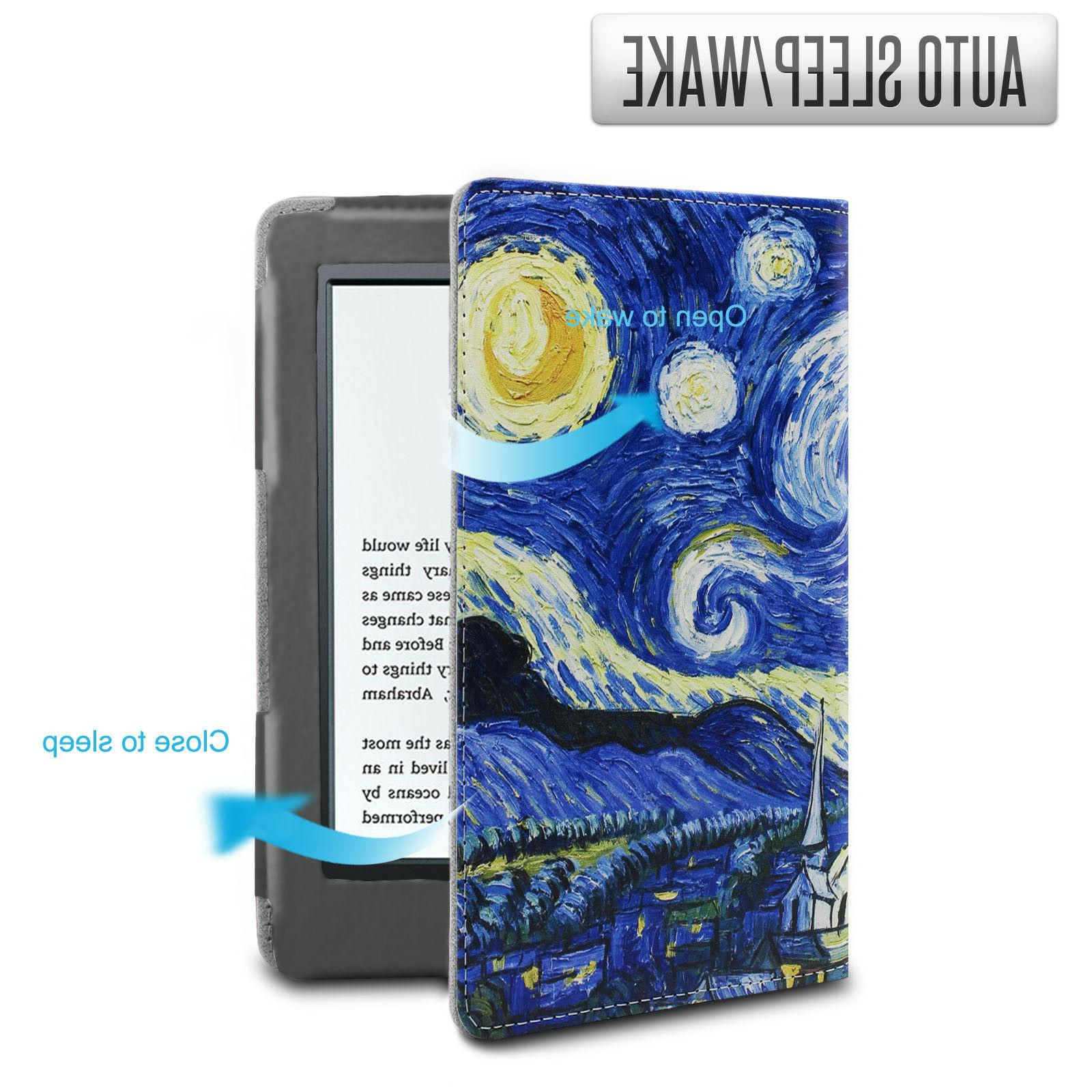 Infiland Folio Case For All-New Kindle 6 Gen 2016