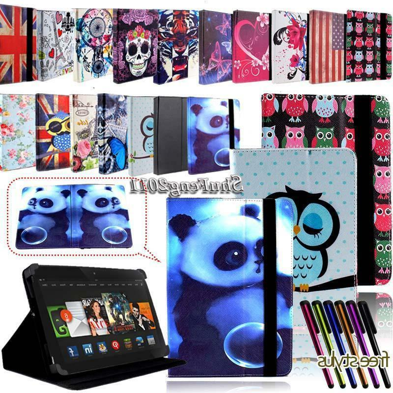 FOLIO LEATHER STAND CASE COVER For Amazon Kindle Fire 7 inch
