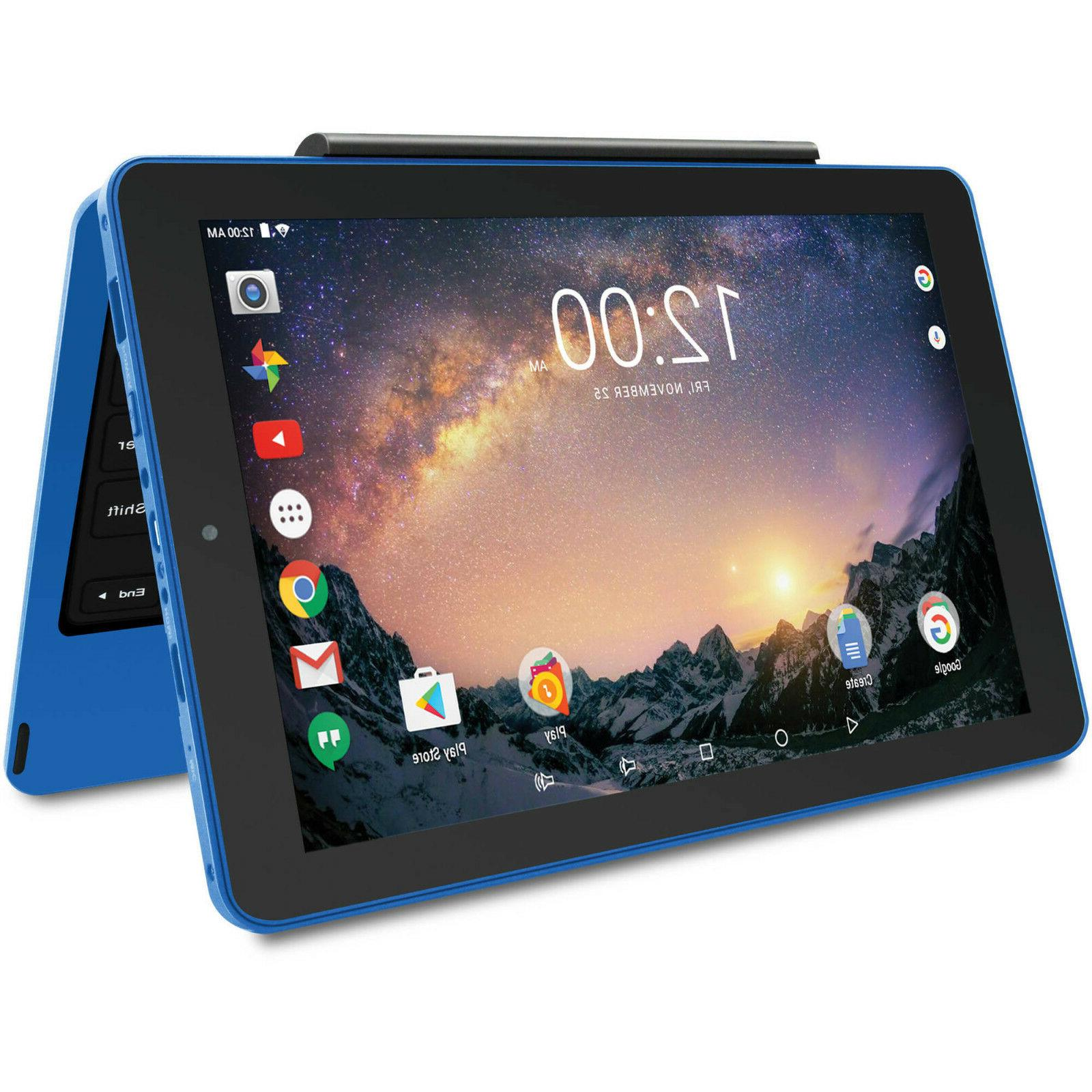 RCA 32GB 2-in-1 Tablet + Keyboard BLUE NEW