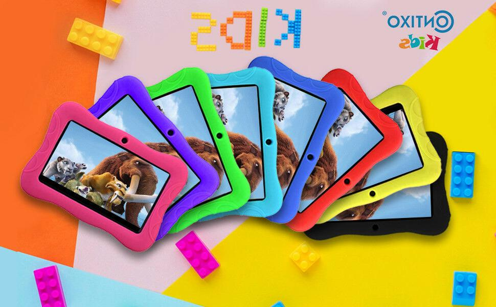 """Contixo K3 Kids Tablet 7"""" Bluetooth WiFi Camera Android 6.0"""