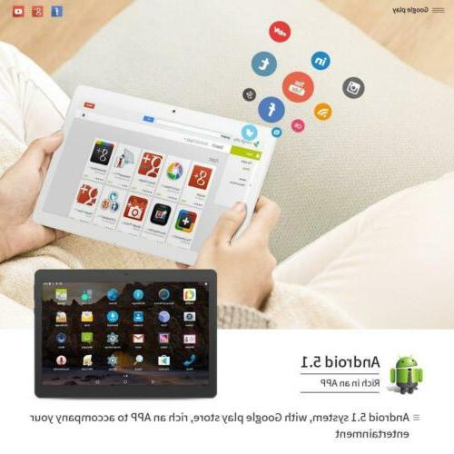 YUNTAB 9.6 inch Android Smart Support Gold