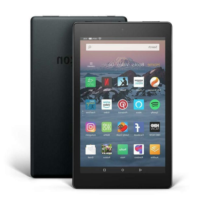"""Amazon Kindle Fire 8 Tablet 16gb 2018 Release 8"""" Black"""