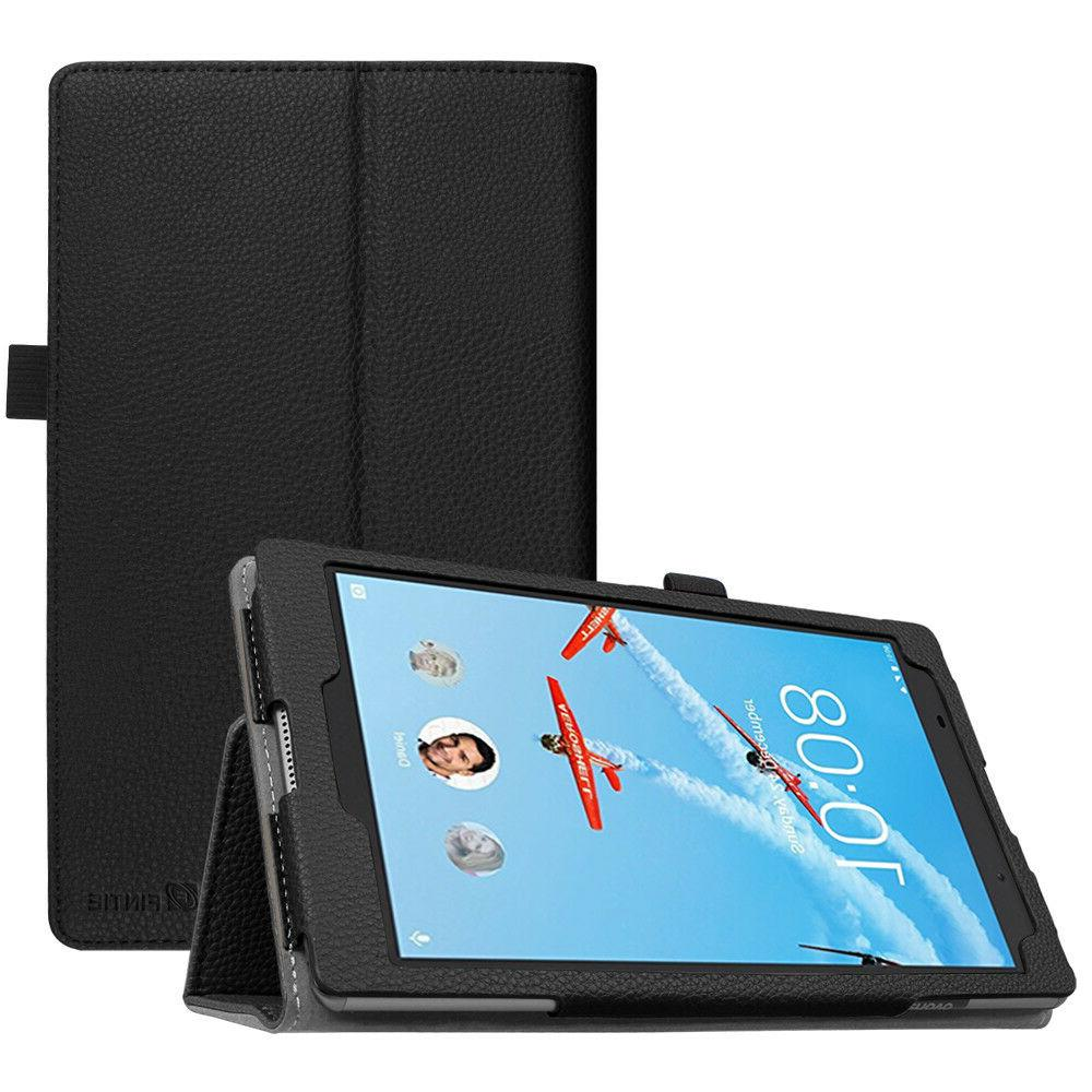 For Lenovo Tab 4 8 Inch Tablet 2017 Case Premium PU Leather