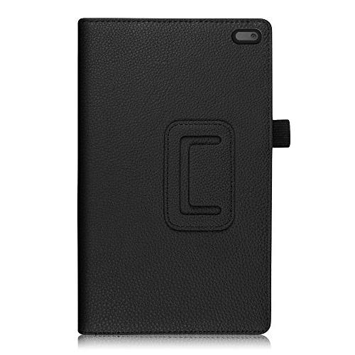 Fintie Tab 4 PU Leather Folio Cover With Stylus Holder Lenovo 8-Inch Android Tablet ,