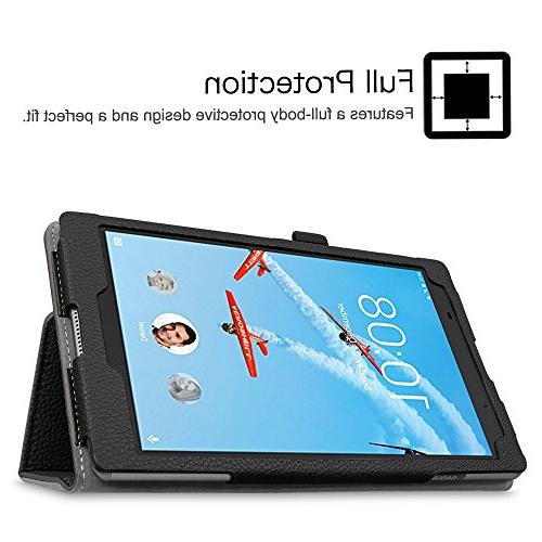 Fintie Lenovo 8 Premium PU With Lenovo Tab4 8-Inch Tablet ,