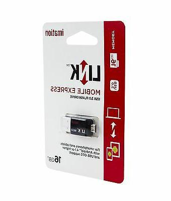 Imation 16GB 3.0 Stick w/ Micro for Phones &