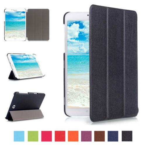 Magnetic Smart Leather Rugged Stand Tablet Case For Samsung