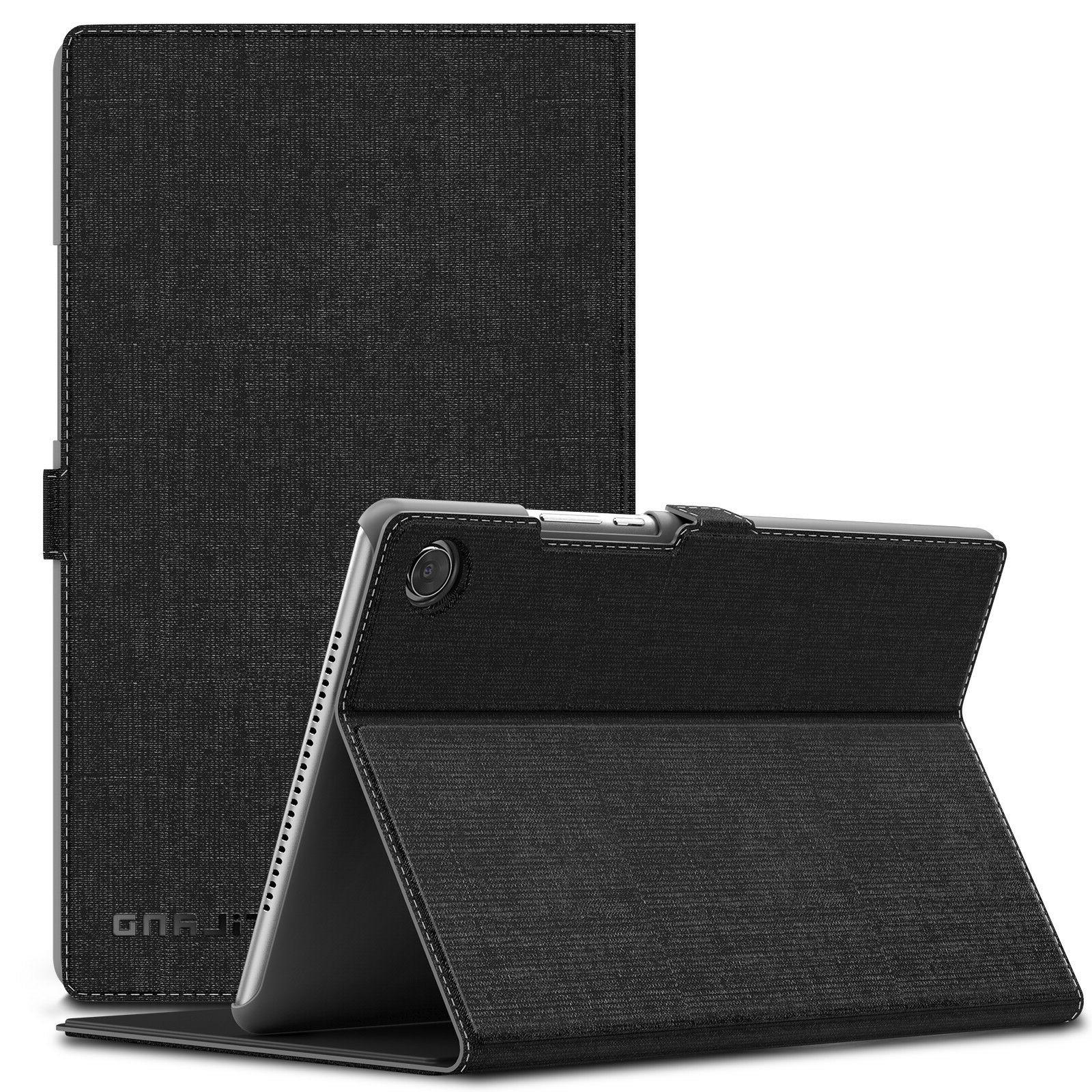 Infiland Multi-Angle Folio Stand Case Cover for Huawei Media