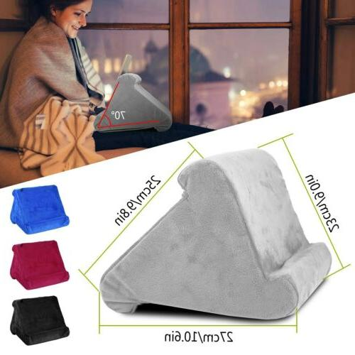 Multi Angle Soft Pillow Stand Holder for Universal Phone Tab