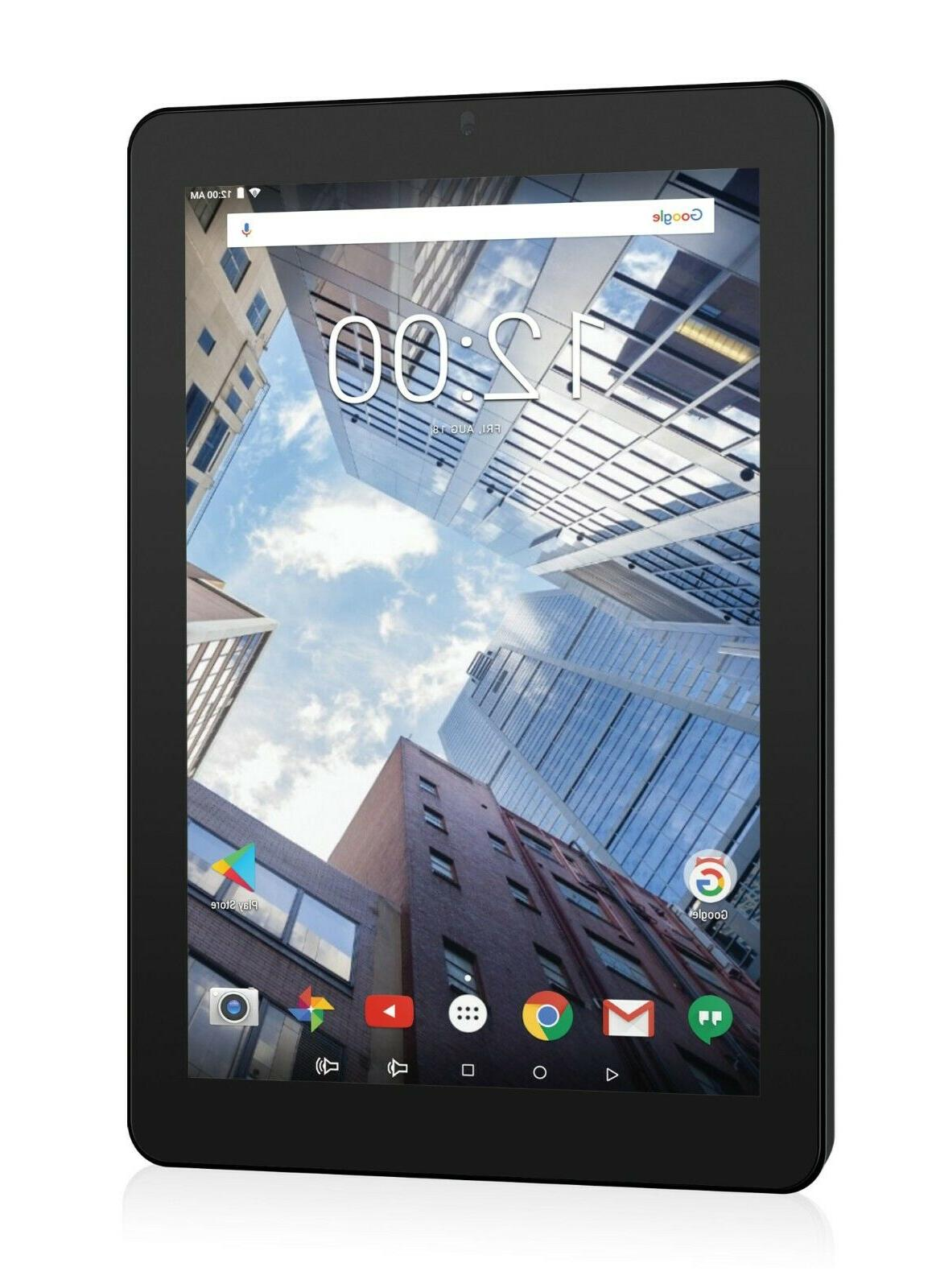 New RCA Pro 16GB, Wi-Fi, 10 with Keyboard Android 7.0 -