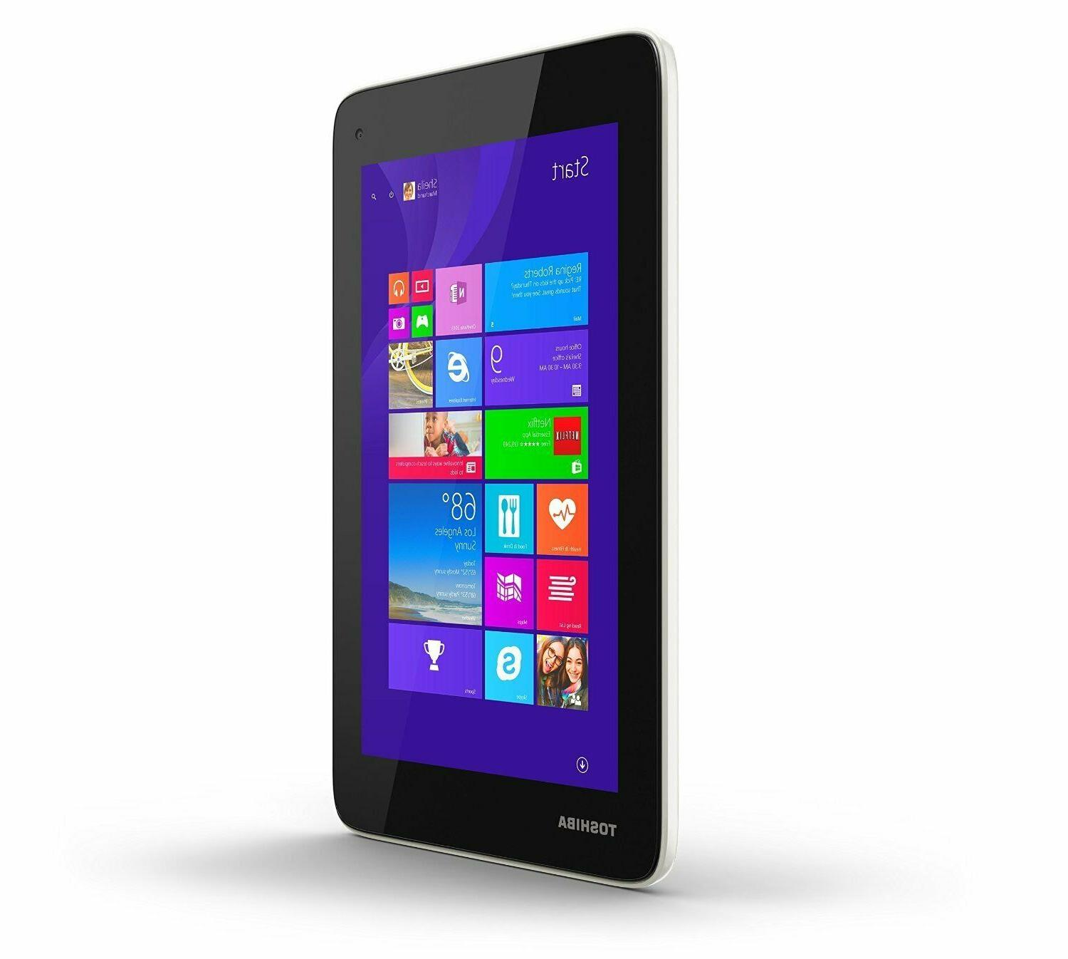 NEW Toshiba Mini 7-Inch Windows Tablet, 16GB