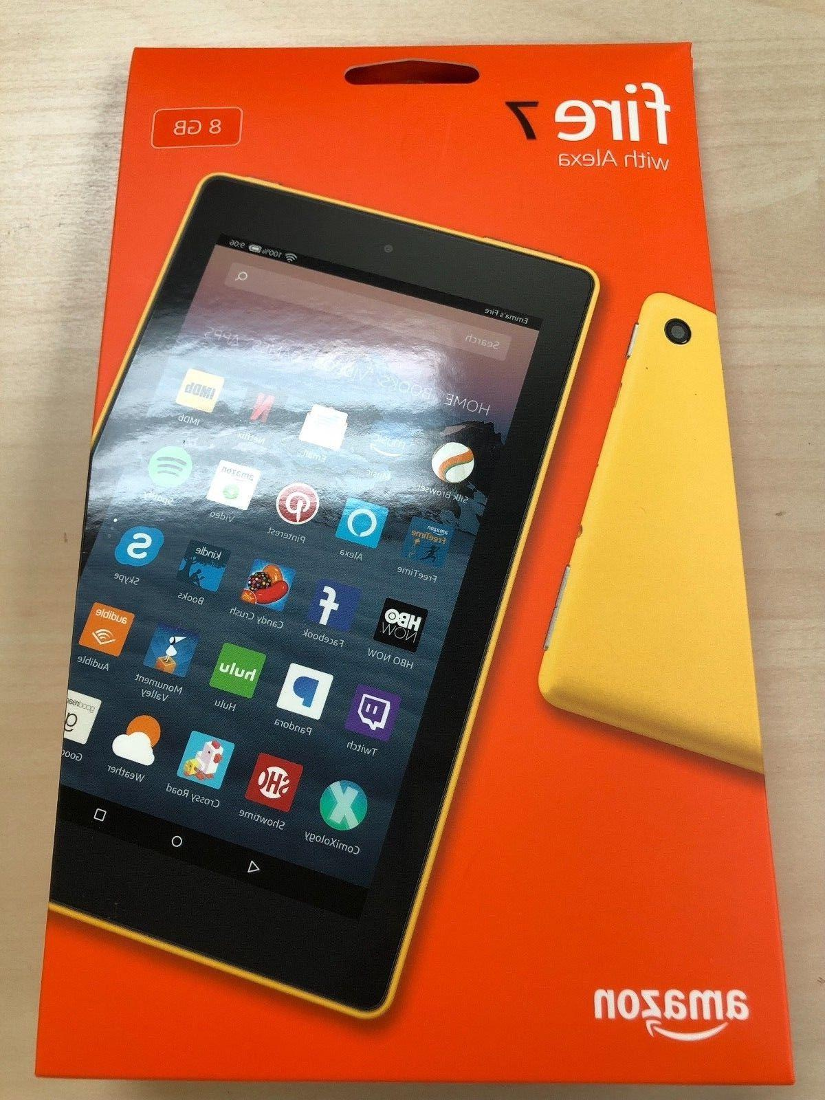 "NEW Fire Tablet With Alexa 7"" Display 16 GB - SAGE"