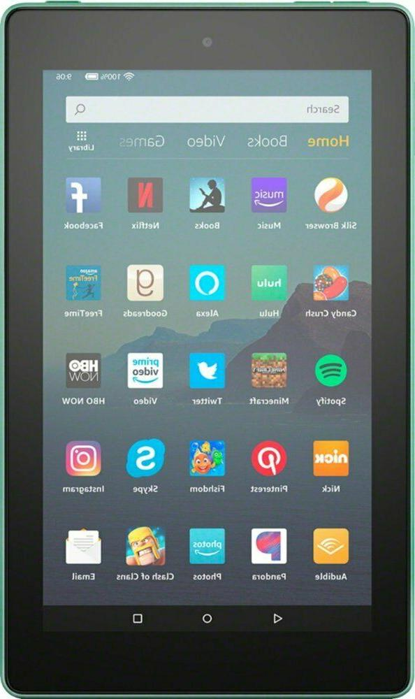 NEW Amazon Fire Tablet With Alexa Display 16 GB SAGE