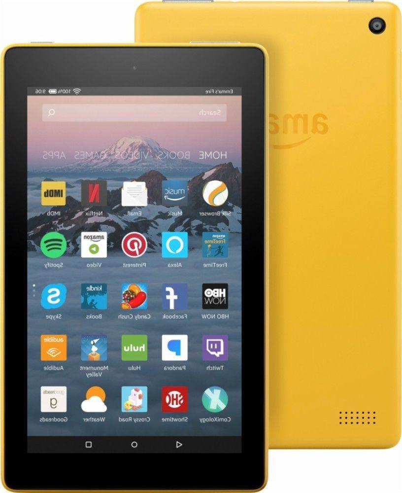 "NEW Amazon Fire 7 Tablet With Alexa 7"" Display 8GB  2017 -CA"