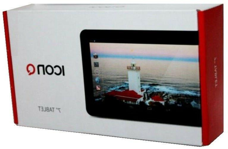 """New ICON-Q 7""""Screen Android 4.2 Front & Camera Tablet micro-SD Slot"""