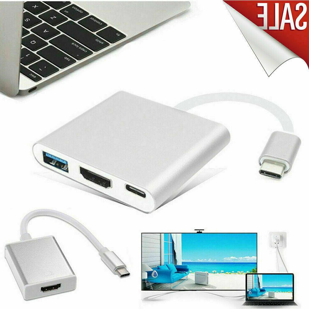 NEW Type to HDTV Cable USB-C Phone
