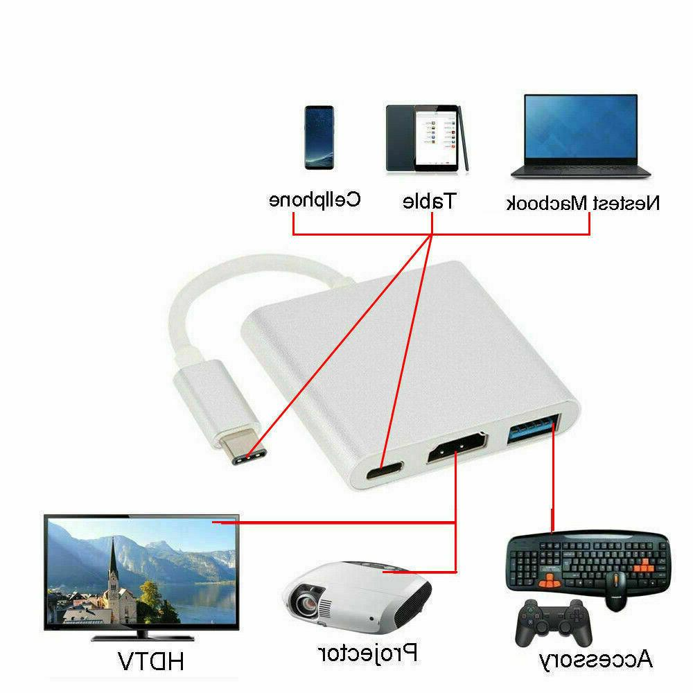 NEW Type C to HDMI Cable Adapter USB-C