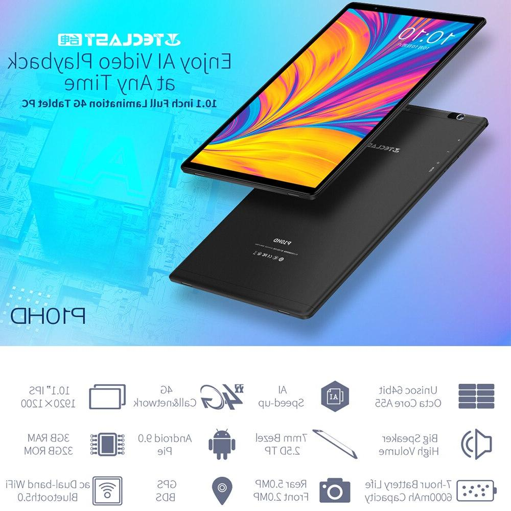 10.1 inch 3GB 32GB SC9863A GPS Android 6000mAh
