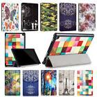 Patterned PU Leather Shell Case Cover For Amazon Kindle Fire