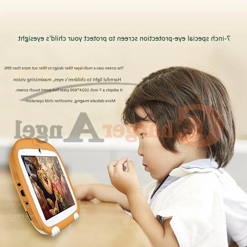 """Kids 7"""" 8GB Android 6.1 Quad Educational Best Gift"""
