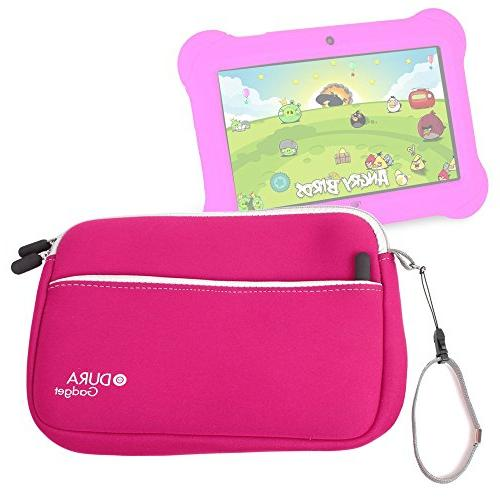 pink neoprene carry case
