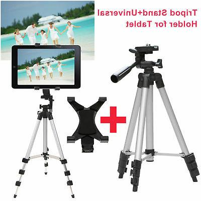 Professional Camera Tripod Stand Mount + Universal Holder fo