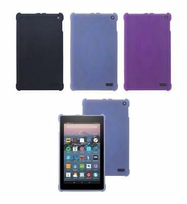 """Protective TPU Case for New 2017 Amazon Fire 7"""" Tablet W/ Al"""