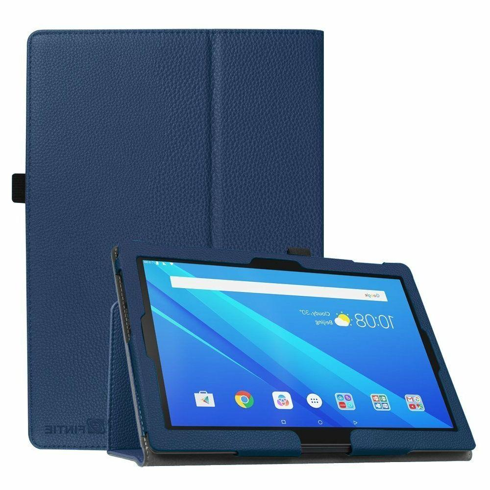 PU Leather Case Folio Stand Cover for AT&T Lenovo Moto Tab 1