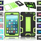 Rugged Shockproof Case Stand Cover For Amazon Kindle Fire 7