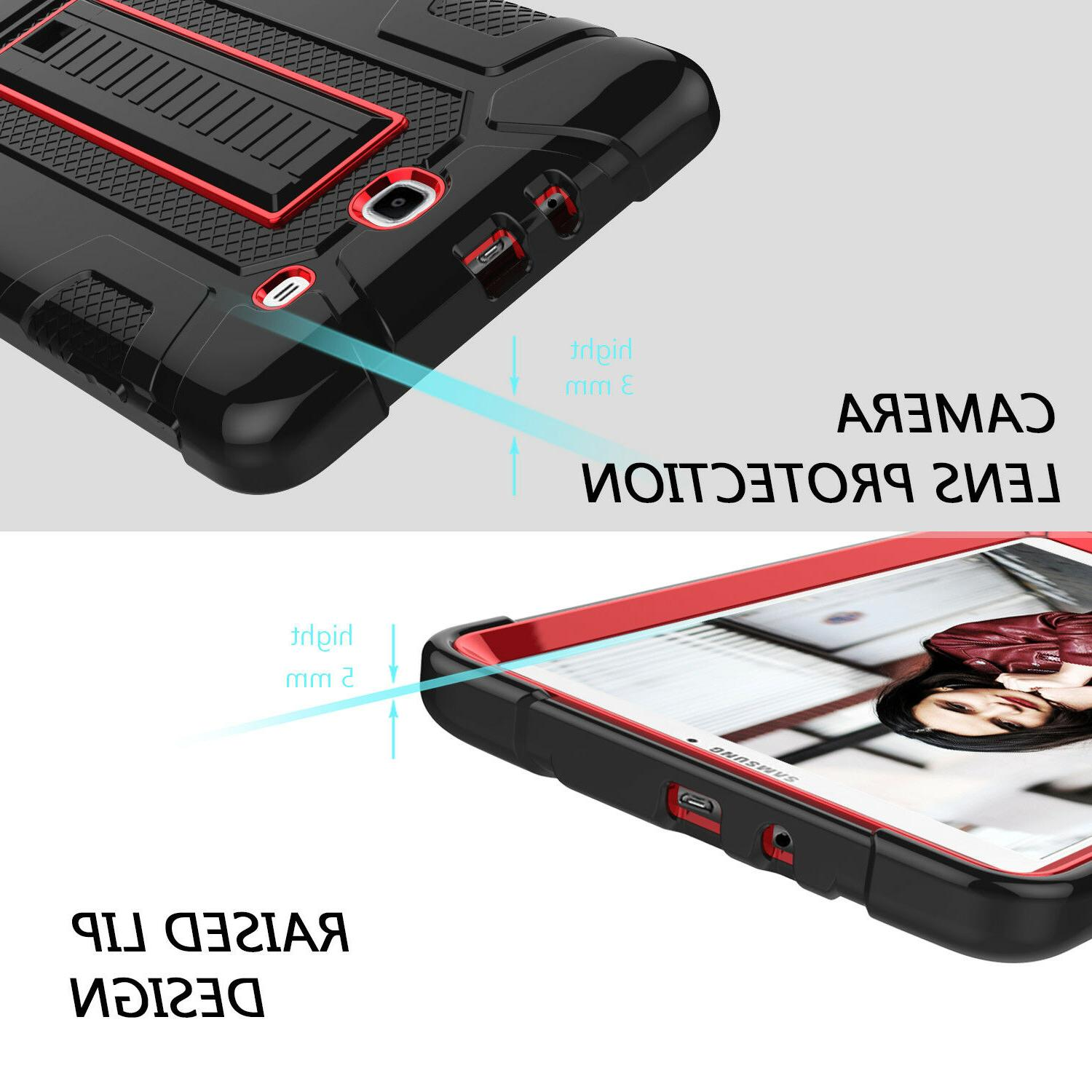 For Tab E Case Shockproof Stand Hard
