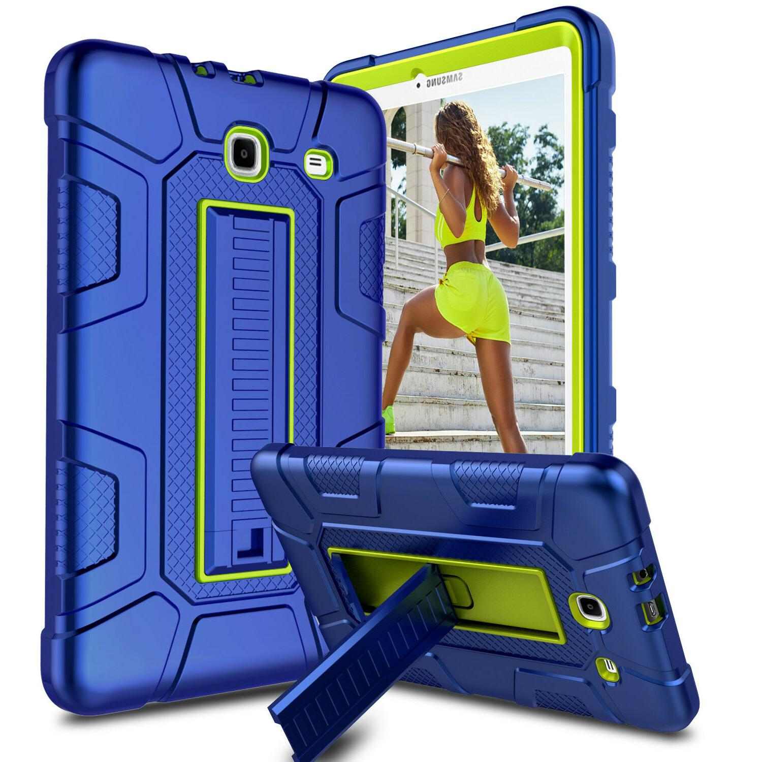 For Samsung Galaxy Tab E Case Shockproof Stand Hard