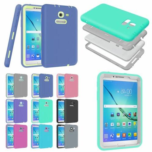 Shockproof Hard Tablet Heavy Duty Case Cover for Samsung Gal
