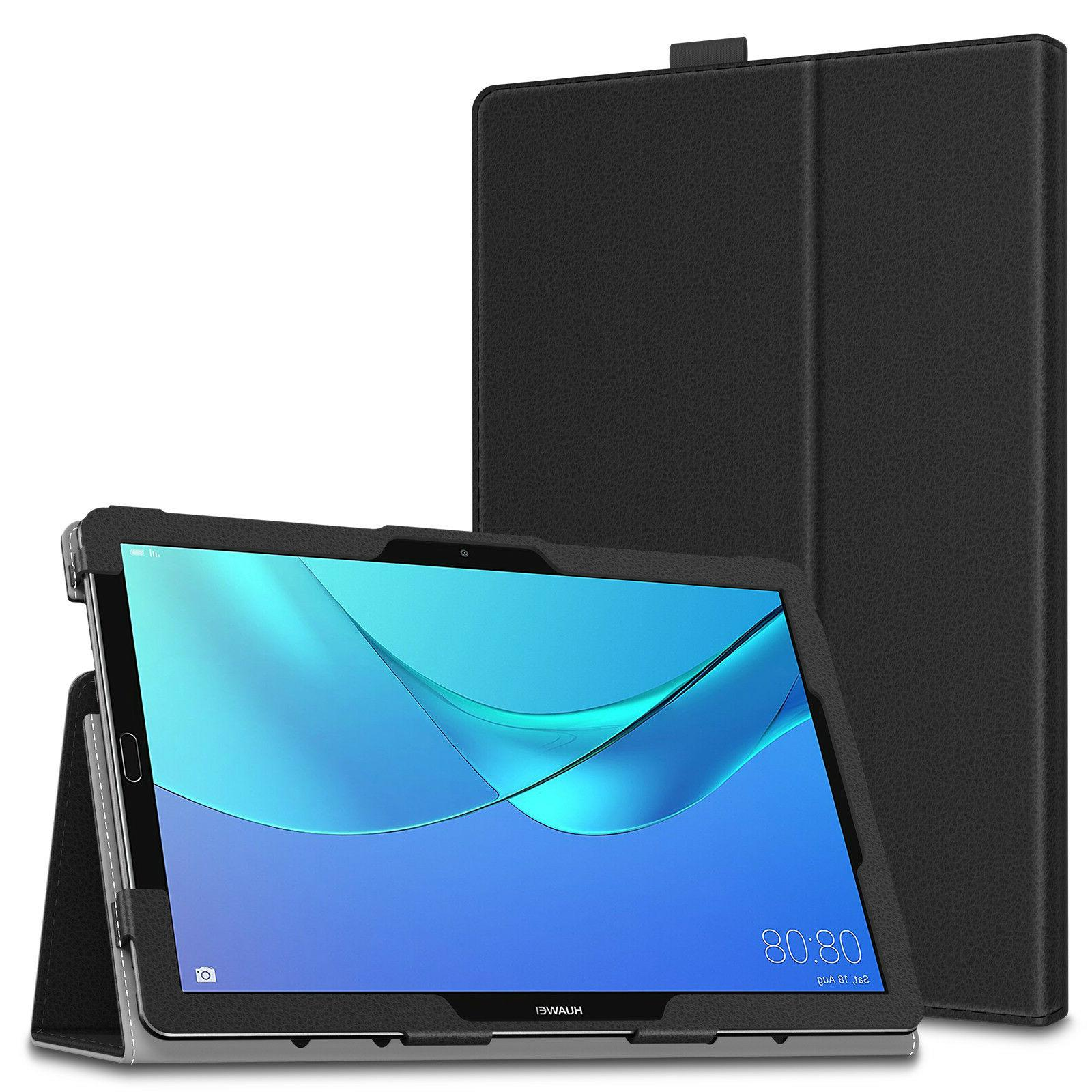 smart folio tablet case cover for huawei