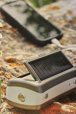 SOLAR DYNAMO POWER PACK 6000 mAh USB-CHARGE TABLET,SMARTPHON