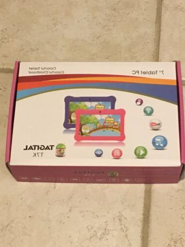 Tagital T7K Quad Core Android Kids Tablet, with Wifi, Camera
