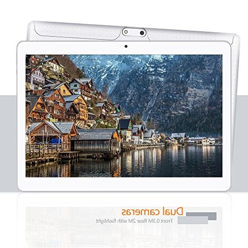 YUNTAB inch Android 5.1 3G Phone Tablet IPS 1280x800 Camera Support SIM Card