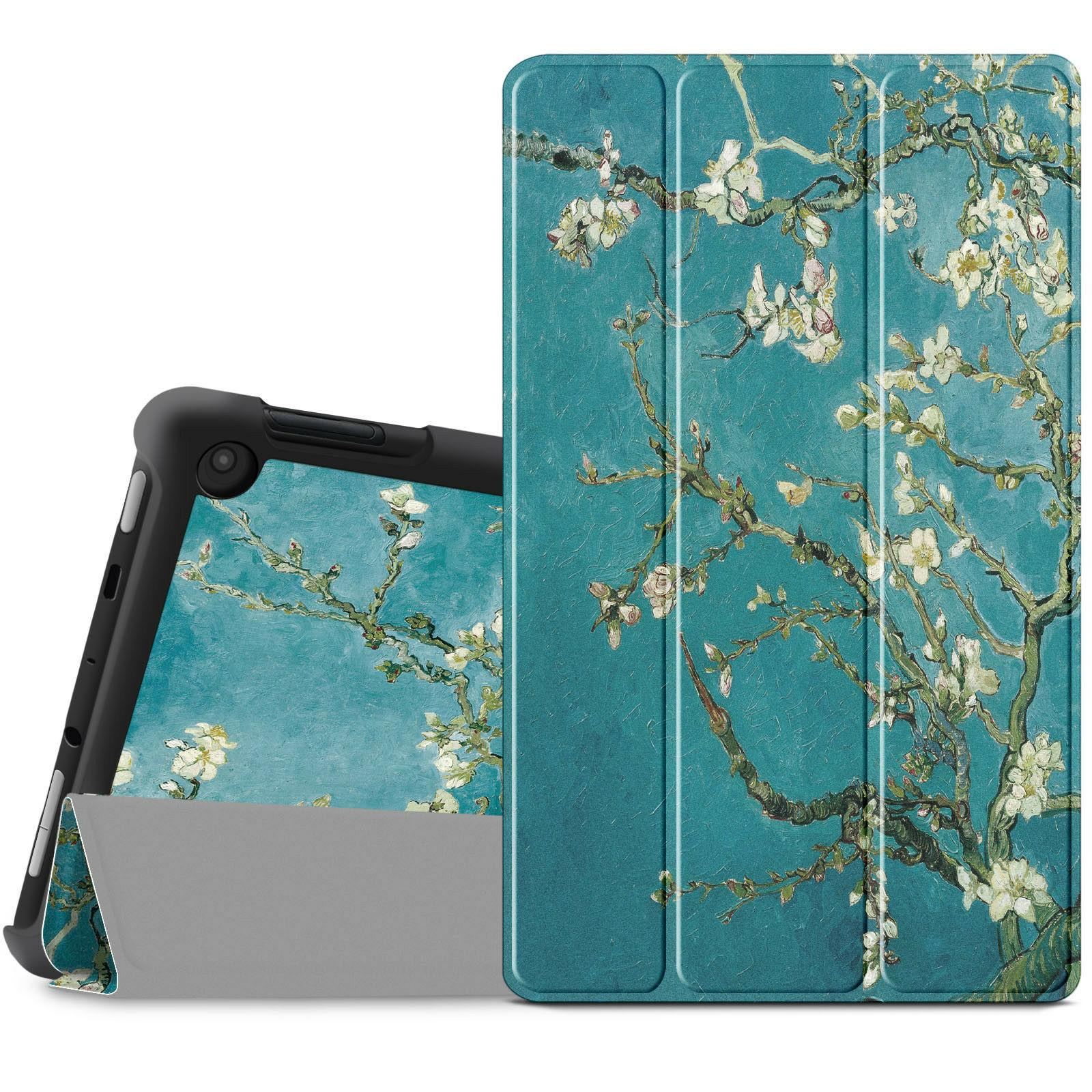 Infiland Tablet Case Cover For Amazon Fire HD 8 7th Gen 2017