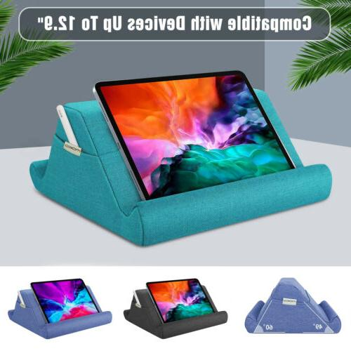 tablet pillow holder multi angle soft stand
