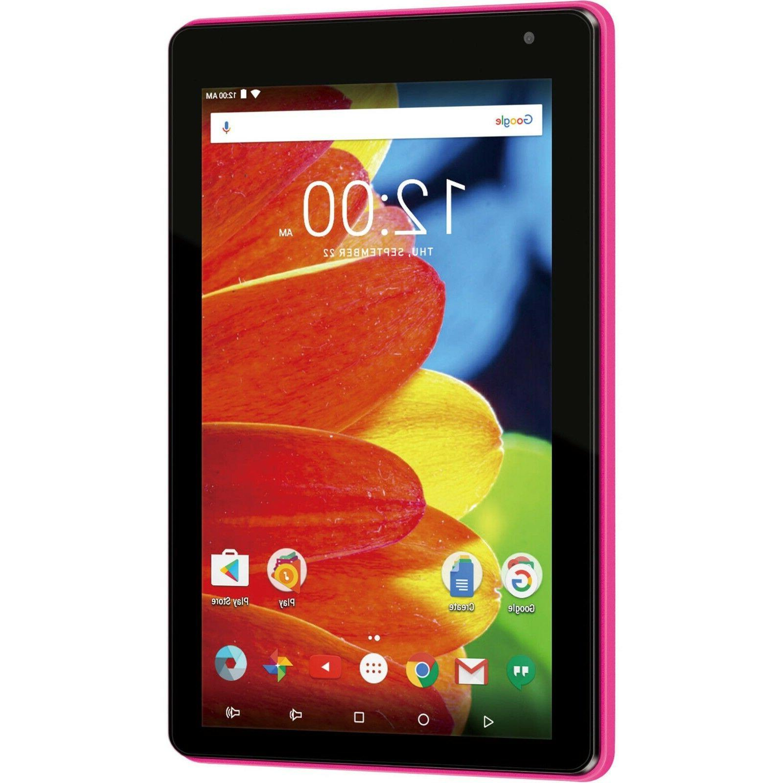 Tablet RCA inch 16GB 1Gb System Memory WiFi Android