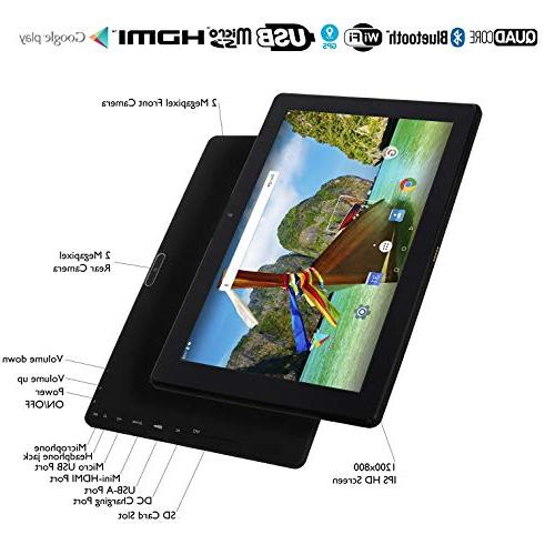 Inch Tablet RAM, 32GB Android 7.0 | 2018 | WiFi, HDMI, | Quad Core 2+5