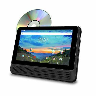 """RCA 10"""" Touchscreen Tablet PC/DVD Combo Android 6.0"""
