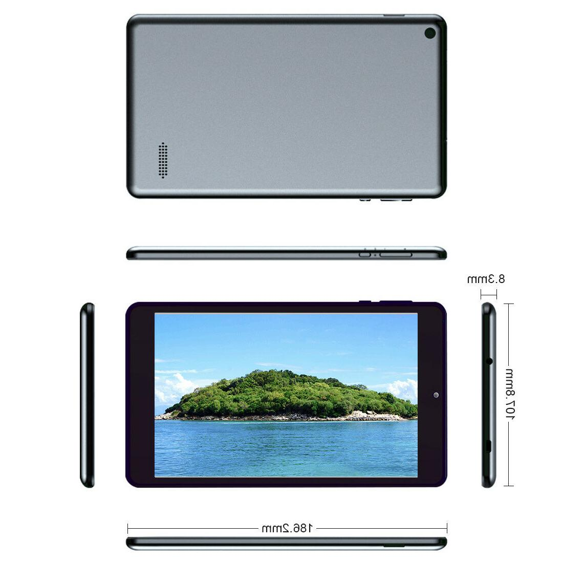 Ultra Thin Gaming Tablet Android4.4 Core Dual 16GB