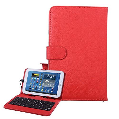 universal tablet case hard leather