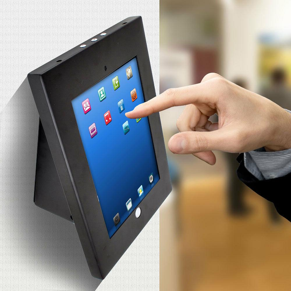 UNIVERSAL TAMPER PROOF ANTI-THEFT IPAD GALAXY TABLET KIOSK W