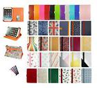 Universal Wallet Case Cover Stand fits YunTab H8 Tablet PC 8