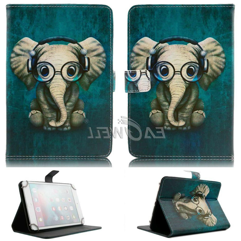 For Amazon HD 10 Tablet Display 2017 PU Case