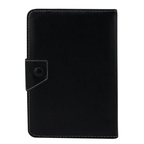 US Inch Tablets Adjustable Leather Cover