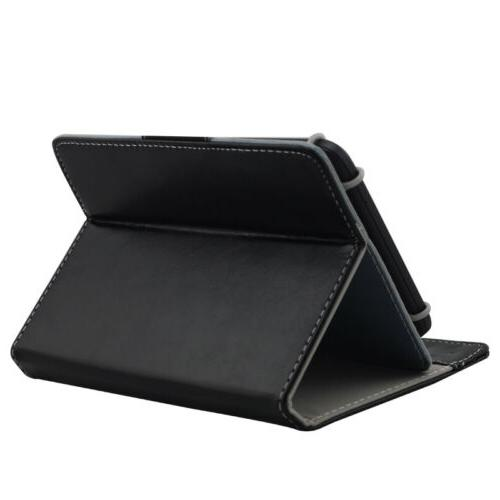 US Inch Tablets Universal Adjustable Case Stand Cover
