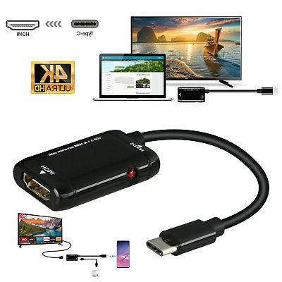 usb c type c to hdmi adapter